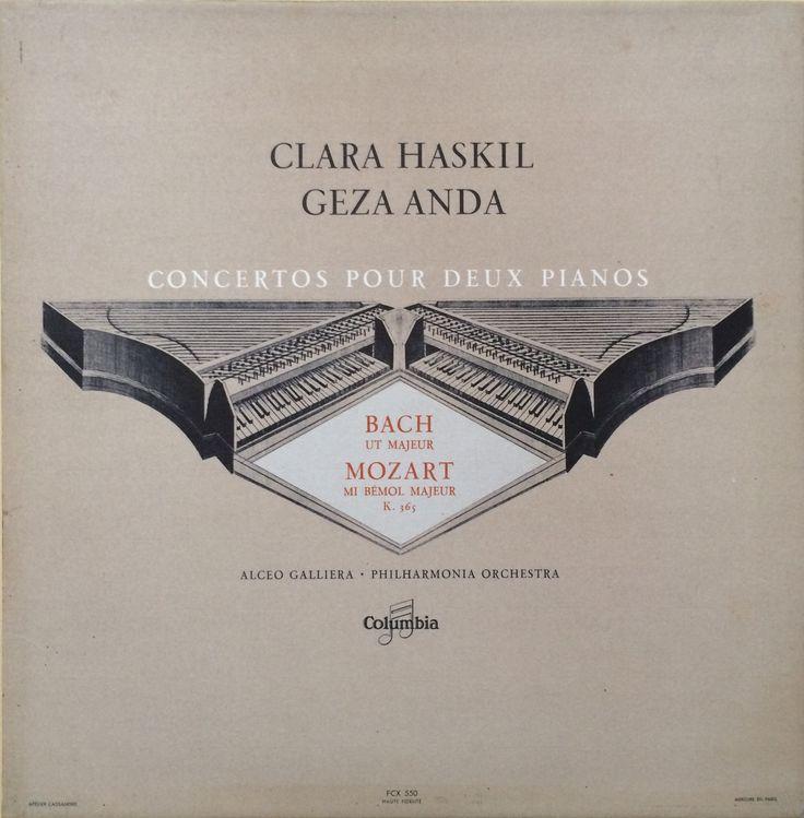 Clara Haskil - Geza Anda - J.S.BACH - MOZART