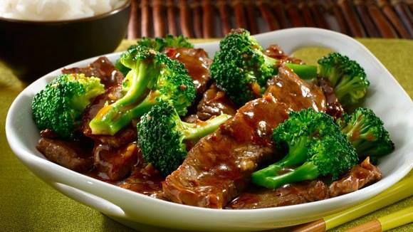 Stir Fry Ginger Beef and Broccoli | Food | Pinterest