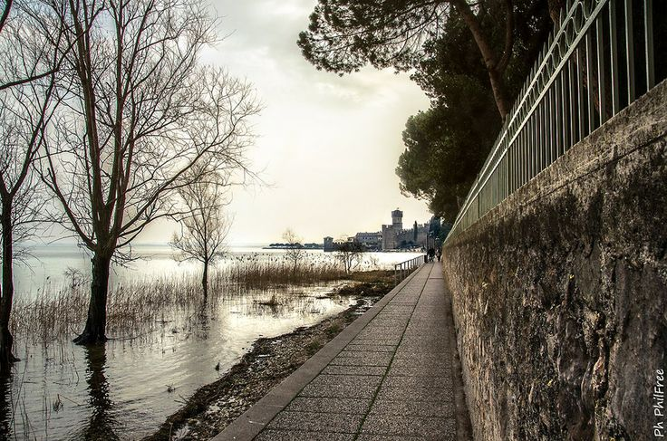 Sirmione sidewalk (see links) by Luca Lorenzelli on 500px