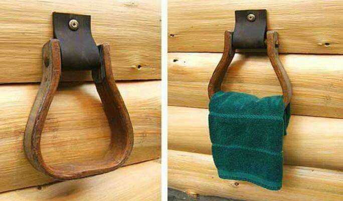 Stir up towel holder