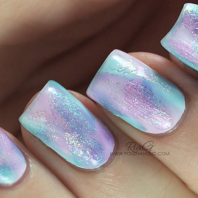 Opal Nails by riagbeautyblog