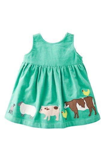 Mini Boden Appliqué Dress (Baby Girls) | Nordstrom
