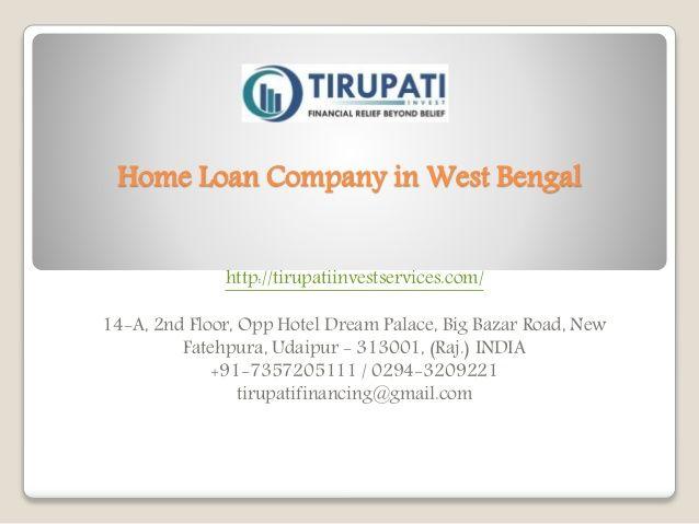 Pin Van Tirupati Invest Op Home Loan Company In India