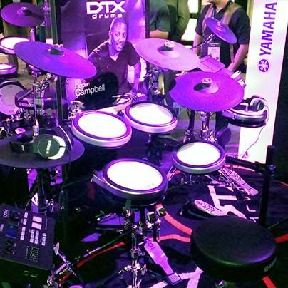 The new Yamaha DTX-700 Series Electric Drum Set with 1,268 drum and percussion sounds and ultra responsive DTX-PADS. What's the first song you would play on this incredible set?