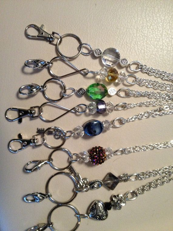 Etsy listing at http://www.etsy.com/listing/113670362/lanyard-id-badge-holder-eye-glasses