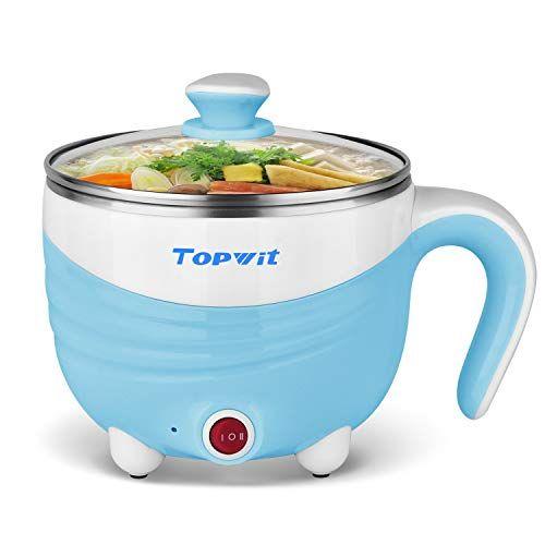 47628037185b Electric Hot Pot 1.5L, Rapid Noodles Cooker, Mini Pot, Cook Perfect ...