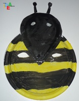 Maschera a forma di ape