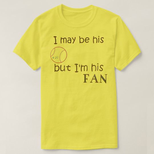 I May Be His But I'm His Fan Baseball Custom Shirts //Price: $15.50 & FREE Shipping //     #hashtag1