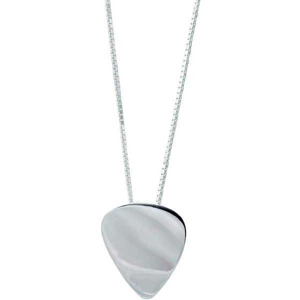 Edge Only - Mens Plectrum Pendant Silver ($175) ❤ liked on Polyvore featuring men's fashion, men's jewelry, men's necklaces, necklaces, mens chain necklace, mens guitar pick necklace, mens silver necklace, mens silver chain necklace and mens chains