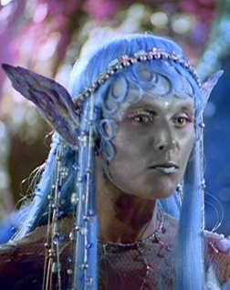"Ocean Hellman as Titiania in mini-series ""Voyage of the Unicorn""."