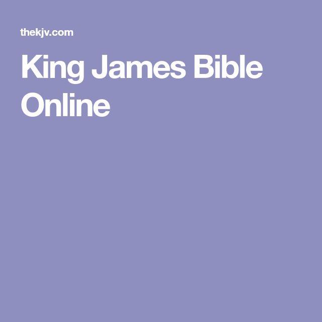 King James Bible Online