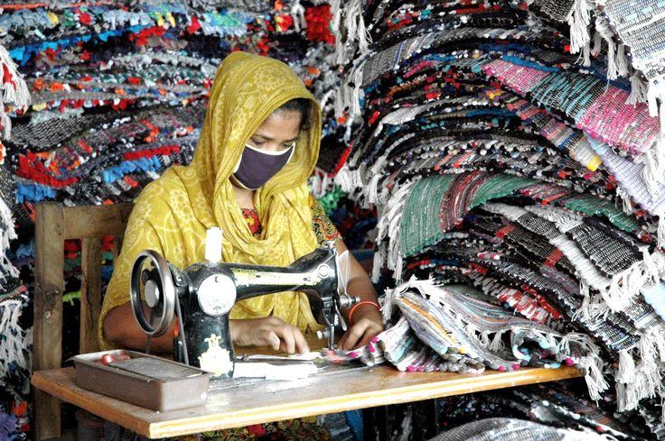 Contaminación textil.