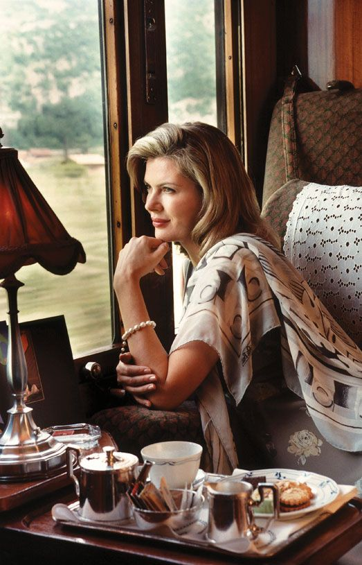 Travelling Tea!.. Tea on the Orient Express...Paris to Istanbul.... oh how perfect!