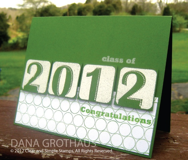 grad card, love the simple format