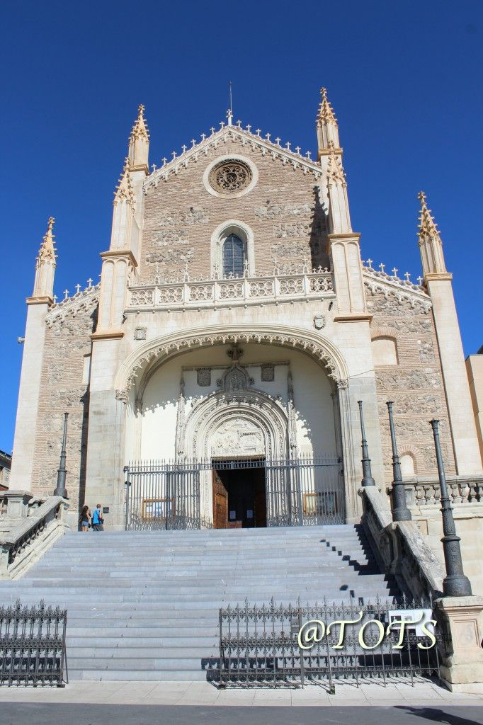 San Jeronimo El Real Church, Madrid, Spain