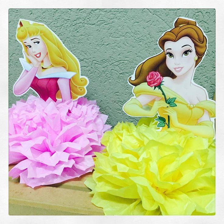 Princesas...sempre lindas! #centrodemesa #personalizados #ratchimbum #loja #novaodessa #princesas