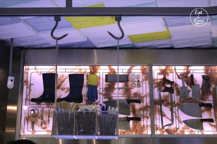 Sala de Despiece - restaurante tapas Madrid
