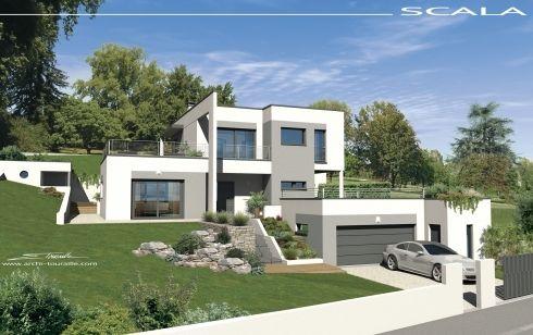 Vues Exterieures Villa Contemporaine Villa Design Contemp