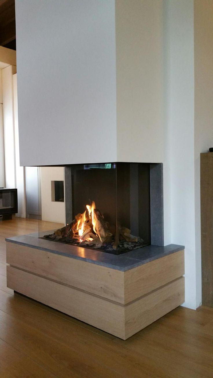 Hout & Haard - 's-Gravenzande - Maestro 80/3 Eco Wave. #DRU #maestro #gasfire