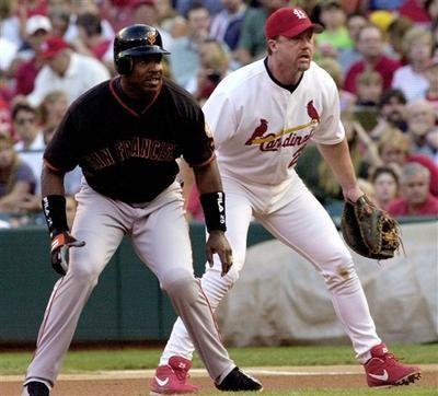Cardinals hitting coach McGwire admits using steroids
