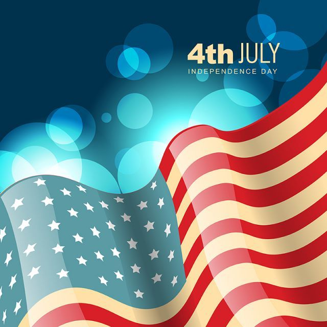 4th Of July American Flag American Independence Day Usa Independence Day Vector July 4th Clipart 4th Of July American Flag Png And Vector With Transparent Ba Independence Day Flag Png American