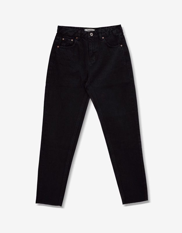 Mom fit jeans - Jeans - Denim - HIDDEN - PULL&BEAR Ukraine