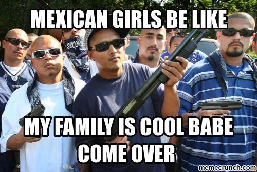 mexican girls be like memecrunch.com