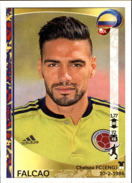 2016 Panini Copa America Centenario Stickers #61 Falcao - NM-MT