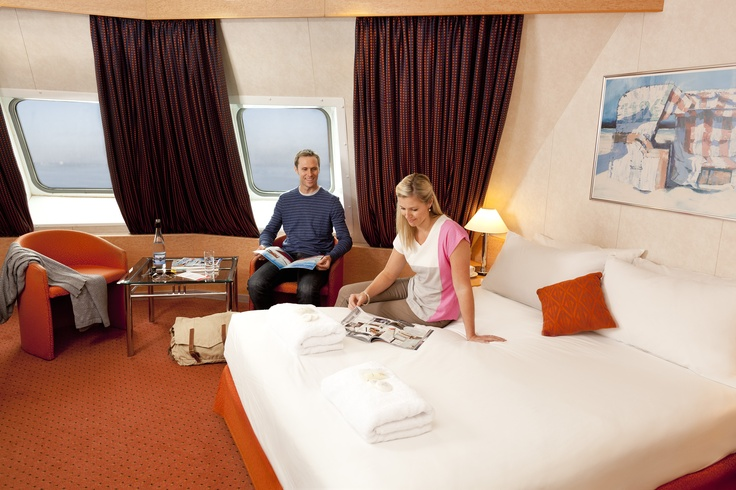 Treat yourself! Sail Bass Strait in a luxurious deluxe cabin.