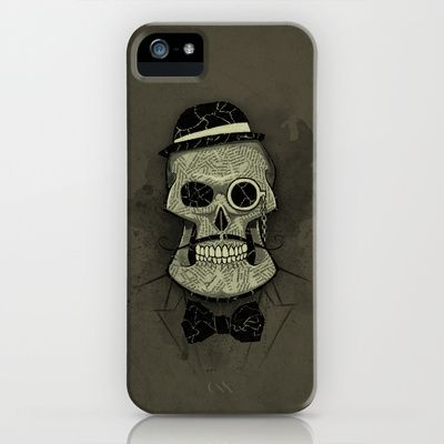 Old Skull iPhone Case by Tomas Jordan - $35.00