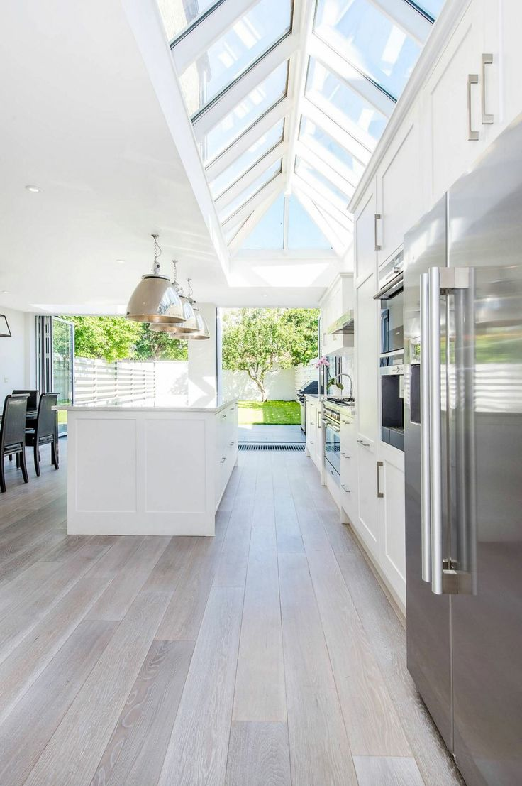 Open and bright kitchen