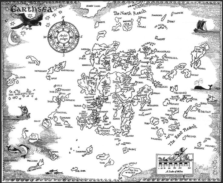 An Index of Dozens of Maps from Epic Fantasy Novels