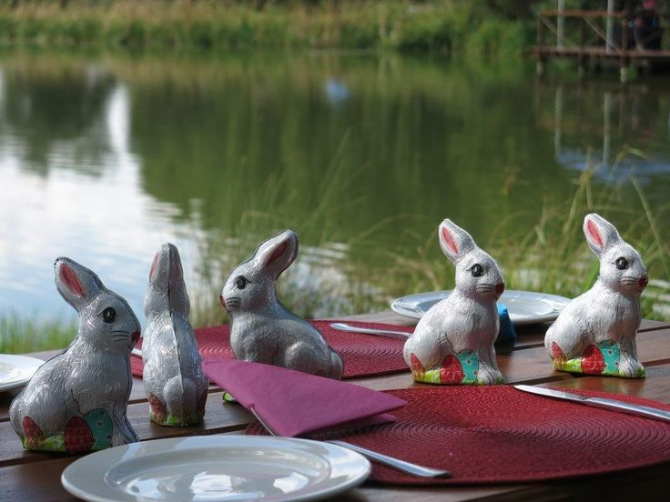 Easter lunch - table decor