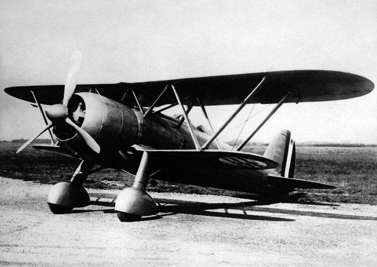 """The Fiat CR.42 Falco (""""Falcon"""", plural:Falchi) was a single-seat sesquiplane fighter which served primarily in Italy's Regia Aeronautica before and during World War II."""