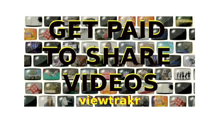 Viewtrakr - Earn Money Sharing Videos