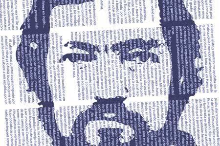 Territorios, en 1979, fue un libro homenaje que quiso hacer a los artistas que admiraba, que le habían obligado a aceptar la libertad como único territorio habitable. Analiza la obra plástica de 17 creadores y sus 17 territorios, procedentes de ámbitos plásticos muy diferentes.