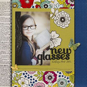 gallery pebbles scrapbooking layouts pinterest american crafts