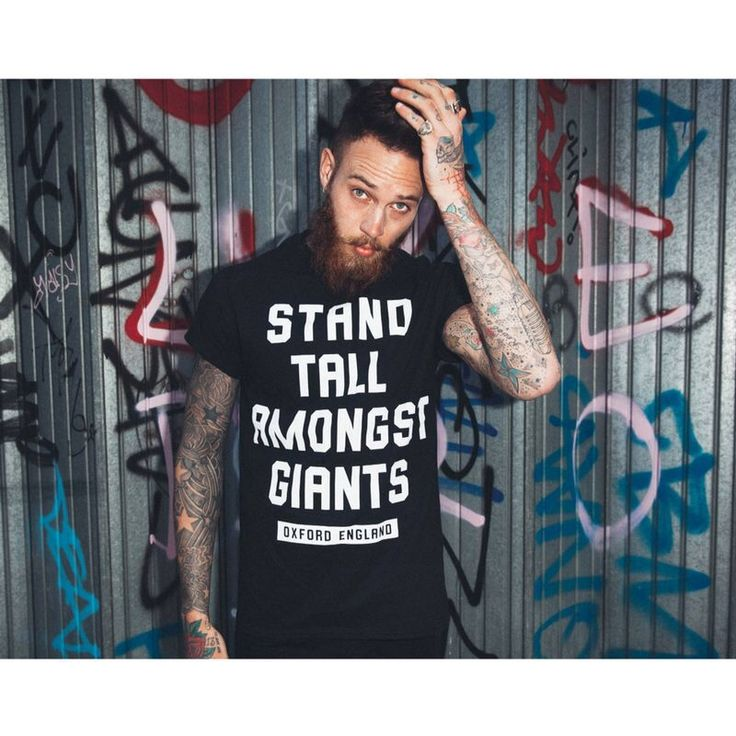 Stand Tall Amongst Giants tee by Stag Clothing