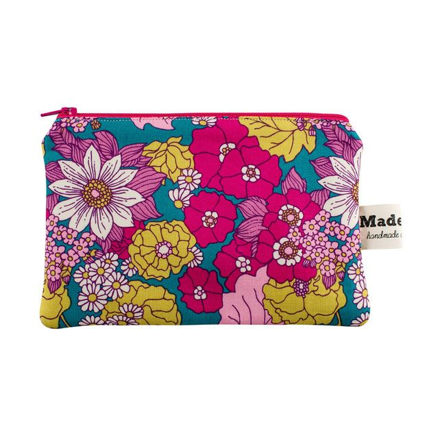 Large Wild Flowers Purse £9.00