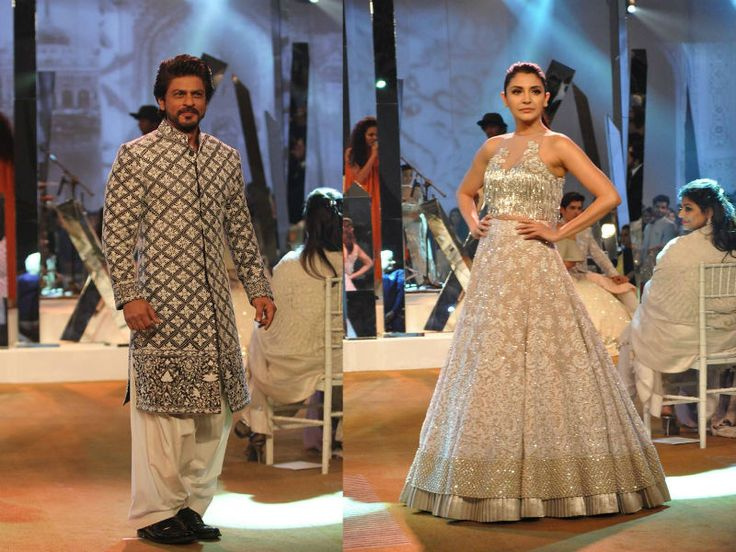 Bollywood's king Shah Rukh Khan walked the ramp with Anushka Sharma for Mijwan Summer 2017—a fundraiser charity show by Shabana Azmi.The NGO Mijwan Welfare Society is named after a town in Uttar Pradesh. It was established by Shabana Azmi's late father Kaifi Azmi. The NGO concentrates on resuscitating the specialty of chikankari embroider by making…