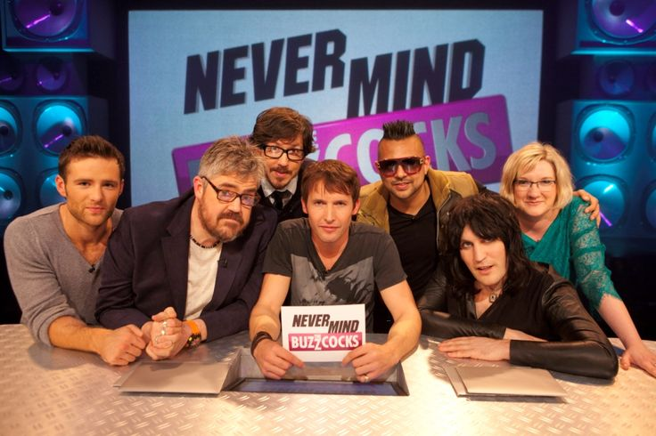 "'Never Mind The Buzzcocks"" hosted by James Blunt with guests: Matthew Crosby, Harry Judd, Sean Paul and Sarah Millican (21.11.2011)"