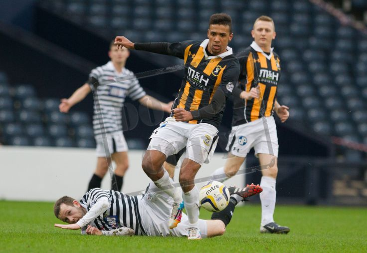 East Fife's Nathan Austin on the ball during the SPFL League Two game between Queen's Park and East Fife.