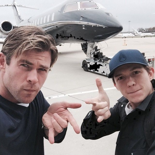 Pin for Later: Chris Hemsworth's Instagram Game Is as Strong as His Biceps
