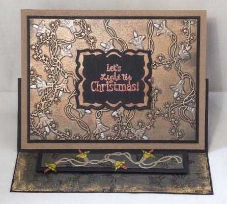 Sheena Douglass' Christmas Embossing Folders #Crafting #Hobbies #Hochanda #CraftersCompanion - www.hochanda.com/