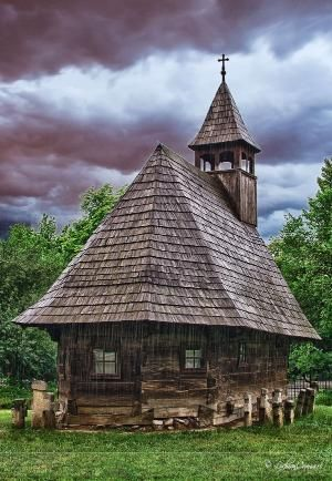 500 Year Old Church In Maramures County, Romania