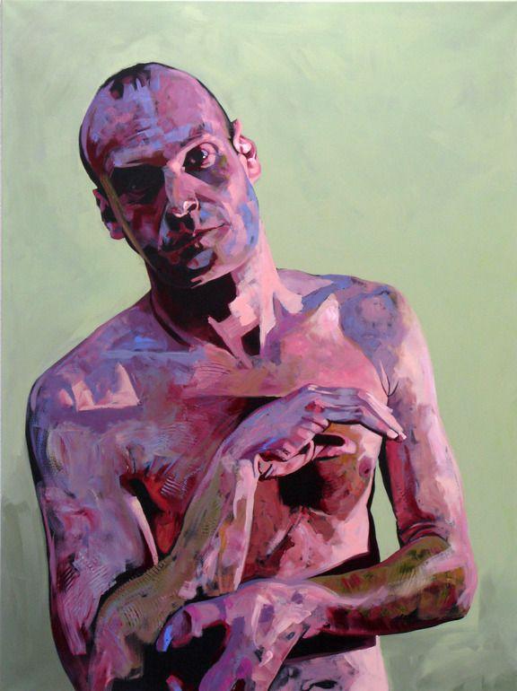 """Saatchi Online Artist: Hanjo Schmidt; Acrylic, Painting """"Woyzeck II"""""""