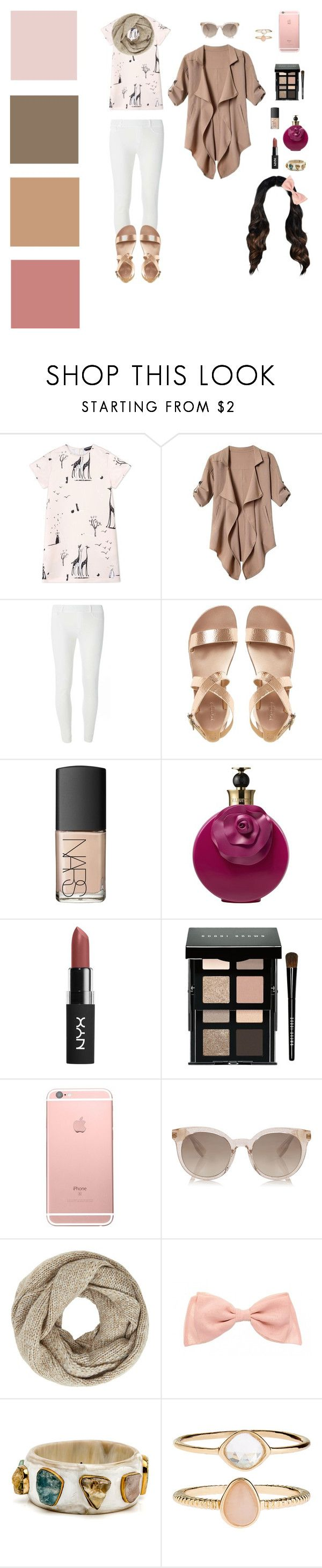 """""""Untitled #752"""" by aquagirl6677 ❤ liked on Polyvore featuring Rochas, Dorothy Perkins, NARS Cosmetics, Valentino, Bobbi Brown Cosmetics, John Lewis, Accessorize, outfit, white and set"""