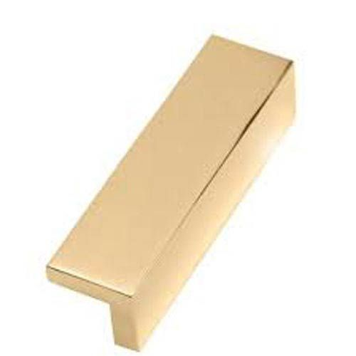 Polished Brass 4 Inch Tap Pull Alno, Inc. Pulls Drawer Cabinet Hardware & Knobs