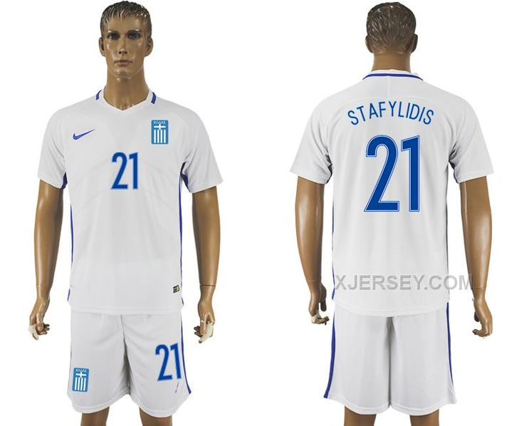http://www.xjersey.com/201617-greece-21-stafylidis-home-soccer-jersey.html 2016-17 GREECE 21 STAFYLIDIS HOME SOCCER JERSEY Only $35.00 , Free Shipping!