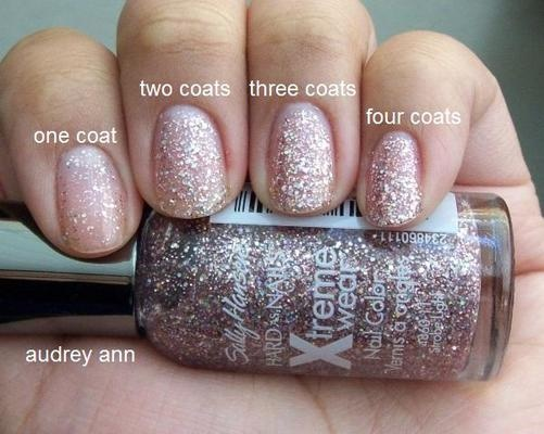 Sally Hansen Strobe Light...looks good over almost any color! So does their RockStar, which is the same, but darker!